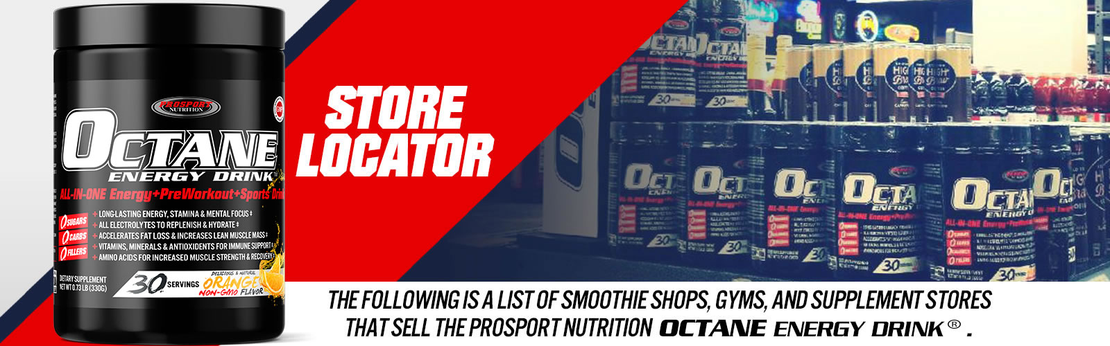 ProSport Nutrition Product Retailers