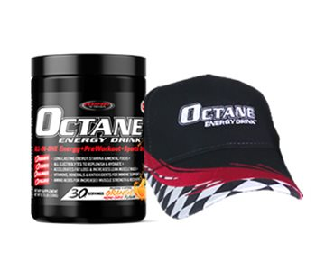 OCTANE ENERGY DRINK™ TUB Plus a OCTANE ENERGY DRINK™ Race Cap