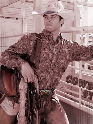 Cody Gaines Professional Saddle Bronc Rider