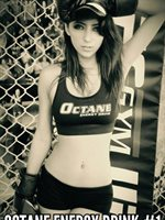 Yvonne OCTANE Energy Drink™ Girl & Model