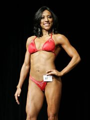Evelia Salazar Fitness Competitor of Houston TX