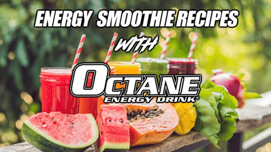 Octane Energy Drink Recipes