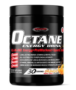 Octane Energy Drink, The Healthy All-In-One Energy and Sports Drink Mix