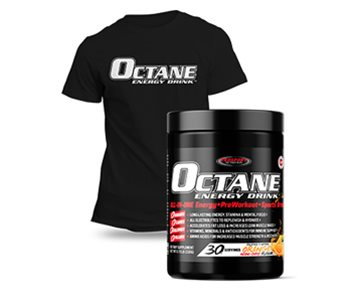 OCTANE ENERGY DRINK™ TUB Plus a