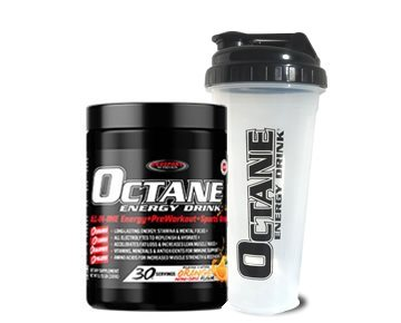 OCTANE ENERGY DRINK® Tub + Shaker Bottle