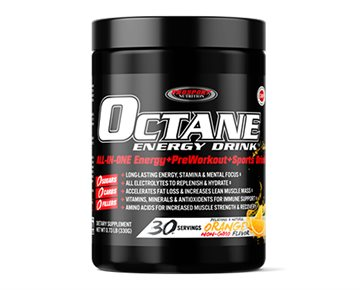 FREE SHIPPING! OCTANE ENERGY DRINK® 30 Serving Canister