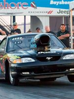 1/4 MILE MUSTANG REPS OCTANE ENERGY DRINK!
