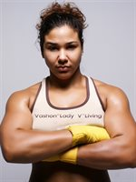 Vashon Living Professional Female Boxer and Instructor