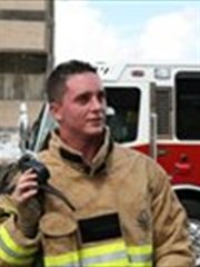 Jeremy Watson Fire Fighter of Houston TX